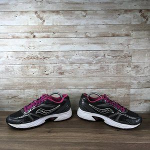 Saucony Shoes - Saucony Oasis Womens Size 9.5 Black Purple